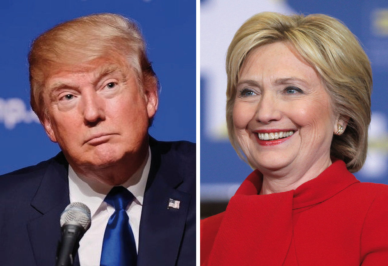 Donald Trump. Hillary Clinton